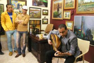 حياوي يأمل أن يتحول جاليري 'الآن' إلى ملتقى فني وإبداعي بالعراق