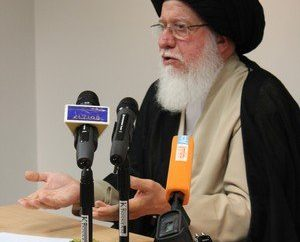سماحة السيد الفقيه حسين إسماعيل الصدر في حوار مفتوح