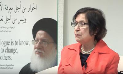 سميرة المانع : احتفالية في بيت السلام