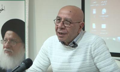عواد ناصر وبيت الحلزون في مؤسسة الحوار الانساني