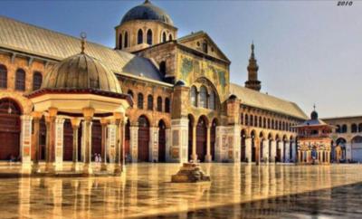 الجامع الأموي الكبير في دمشق … المعبد الذي تحوّل الى مسجد.
