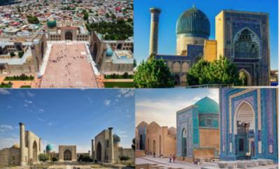 عمارة سمرقند التاريخية تختزل العصر الذهبي للاسلام في آسيا الوسطى