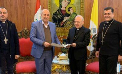 البطريركية الكلدانية تكرم الدكتور عبدالجبار الرفاعي بجائزة أفضل الأعمال الفكرية لسنة 2020