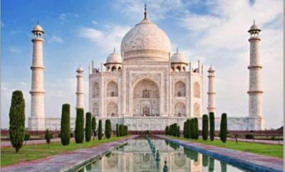 تاج محل … جوهرة الفن الاسلامي في الهند