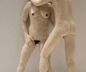 Couple sculpey figures