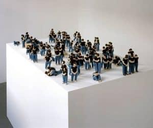 Sockel figure sculptures