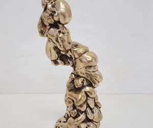 Centre Point bronze sculpture