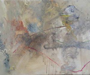 2021, oil & acrylic on canvas, 37 x 51 cm