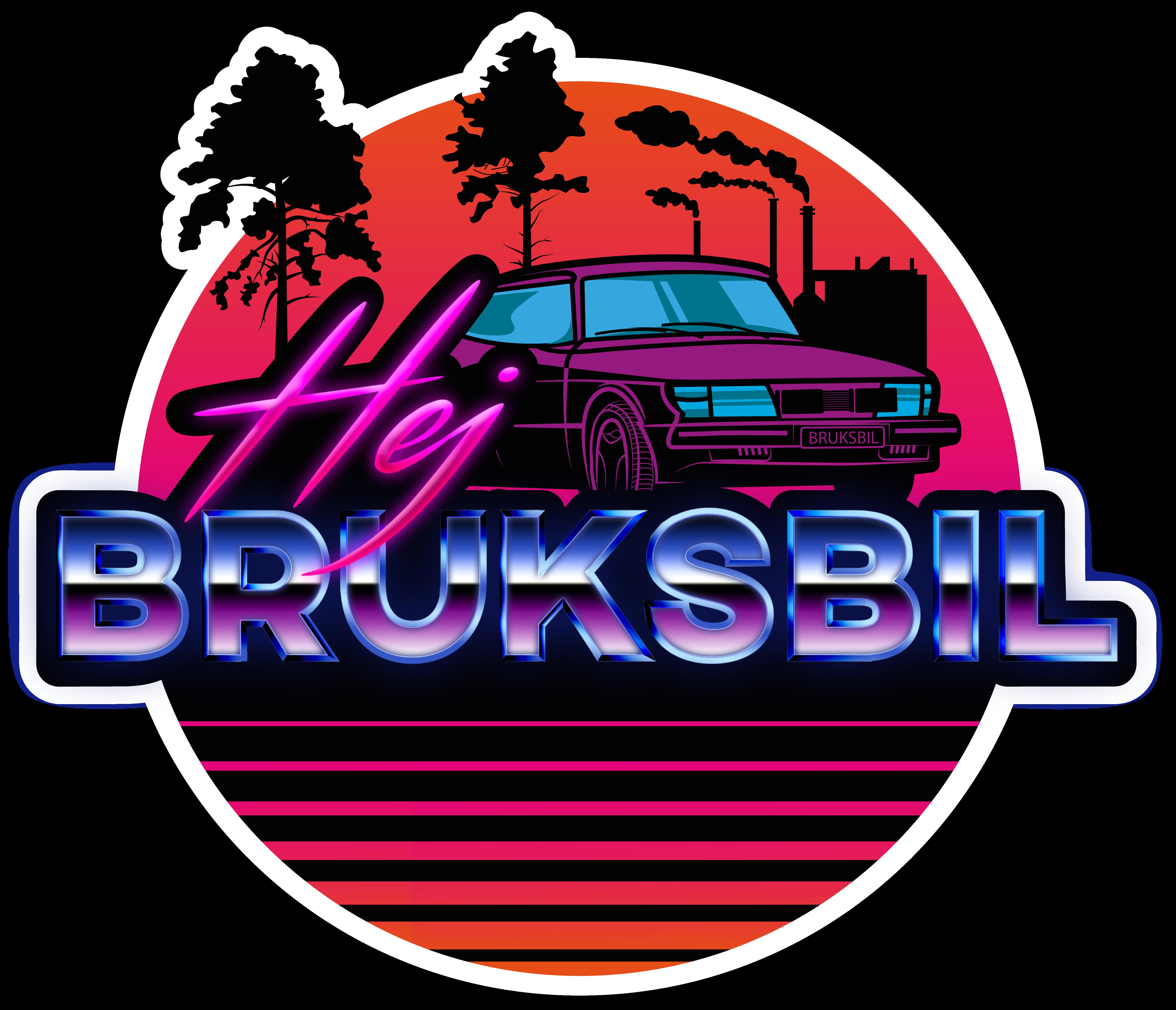 Hej Bruksbil Logotyp