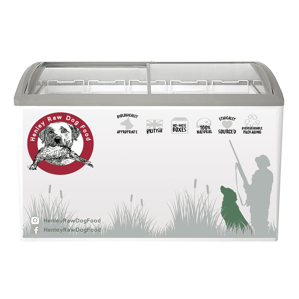 Henley Raw Dog Food Trade Freezer