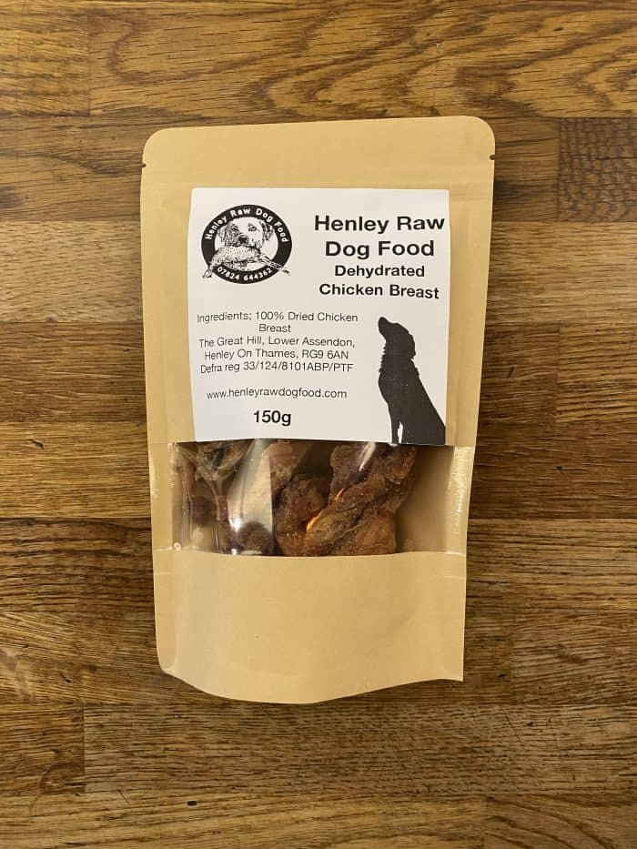 Dehydrated Chicken Breast Jerky Dog Food