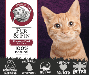 Fur and Fin Raw Cat Food