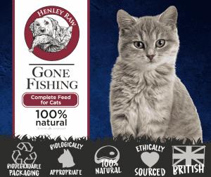 Gone Fishing Raw Cat Food