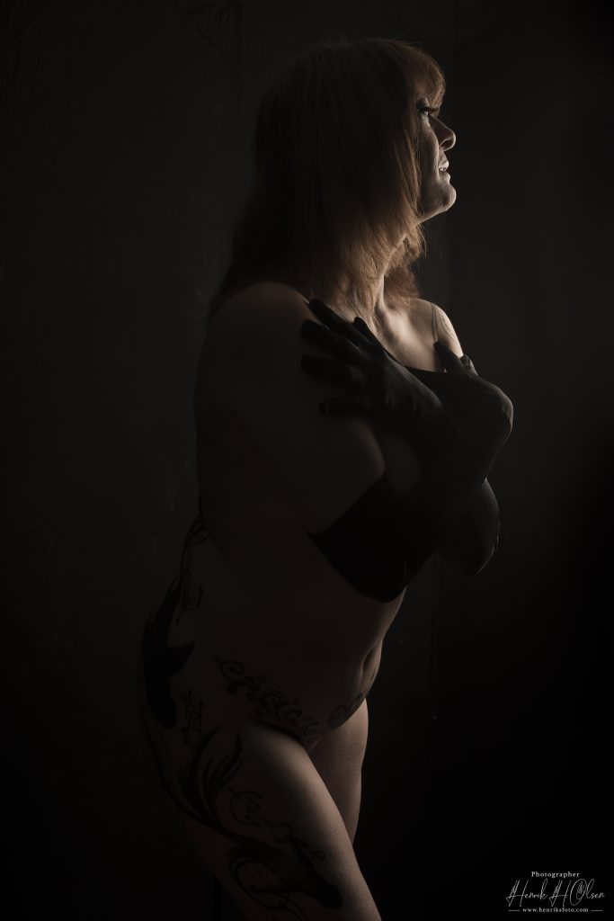 TFP Model fotografering hos HenriksFoto.Com