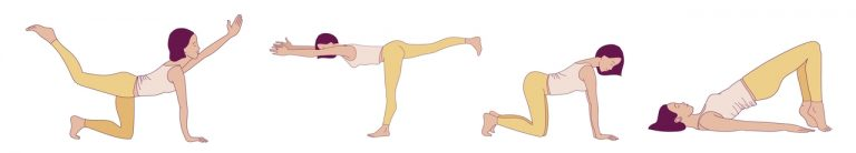 Beckenboden Frau Training Uebungen Yoga orig