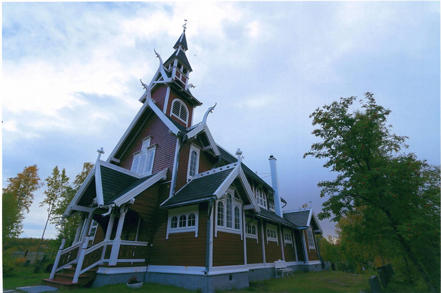 Foto av Neiden kapell