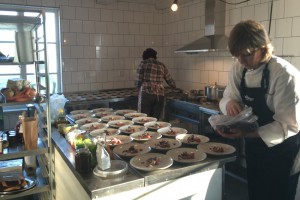 The kitchen at Hökeriet