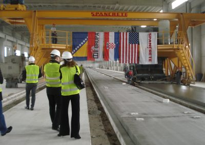 Hollowcore production, hollowcore slab production