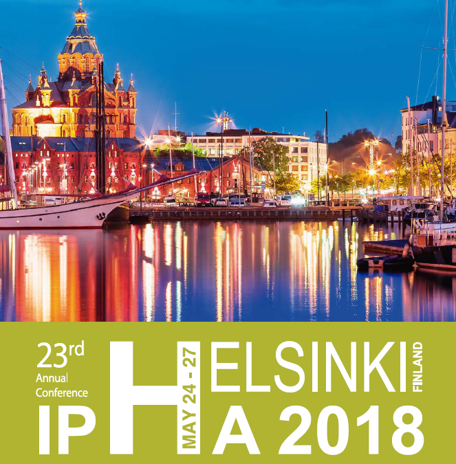 IPHA Annual Conference 2018 – Helsinki