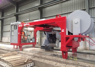 hollowcore saw, precast concrete saw