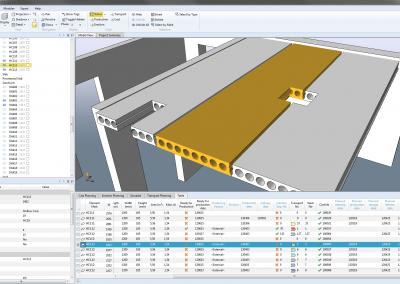 Precast design, hollowcore slab design software