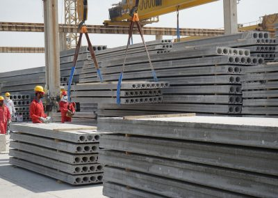 hollowcore factory, hollowcore slab factory