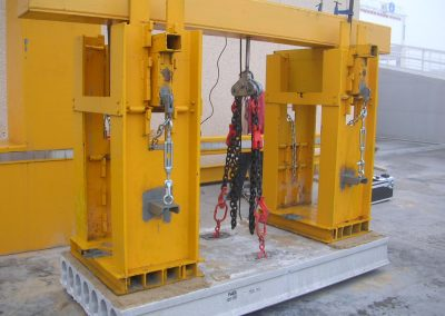 Hollowcore production. prestressed hollowcore slabs