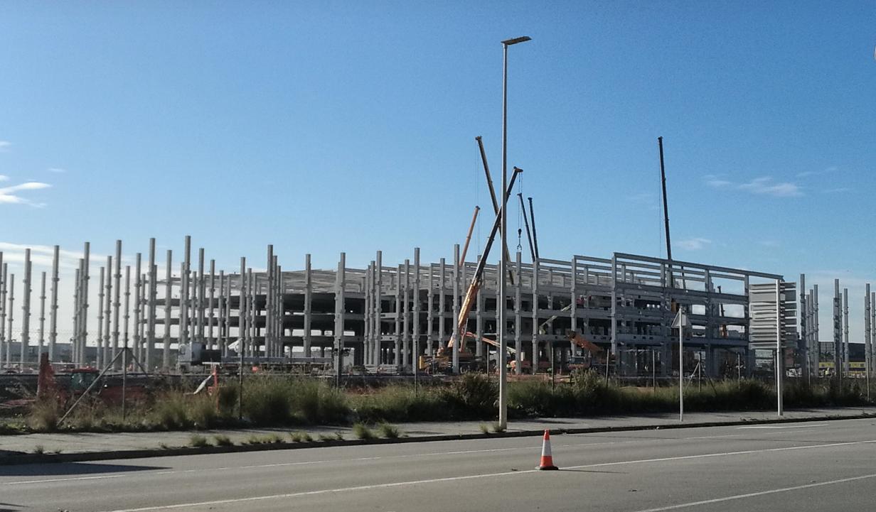 precast concrete frame, precast concrete