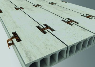 hollowcore design software, Precast design, 3D CAD precast concrete design