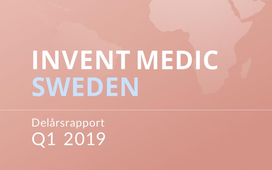 Invent Medic Q1 delårsrapport