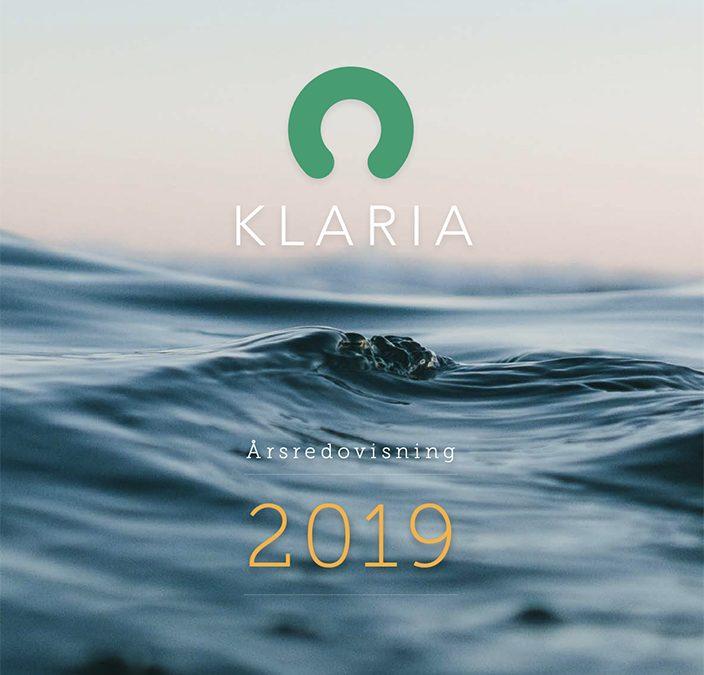 Klaria Årsredovisning 2019