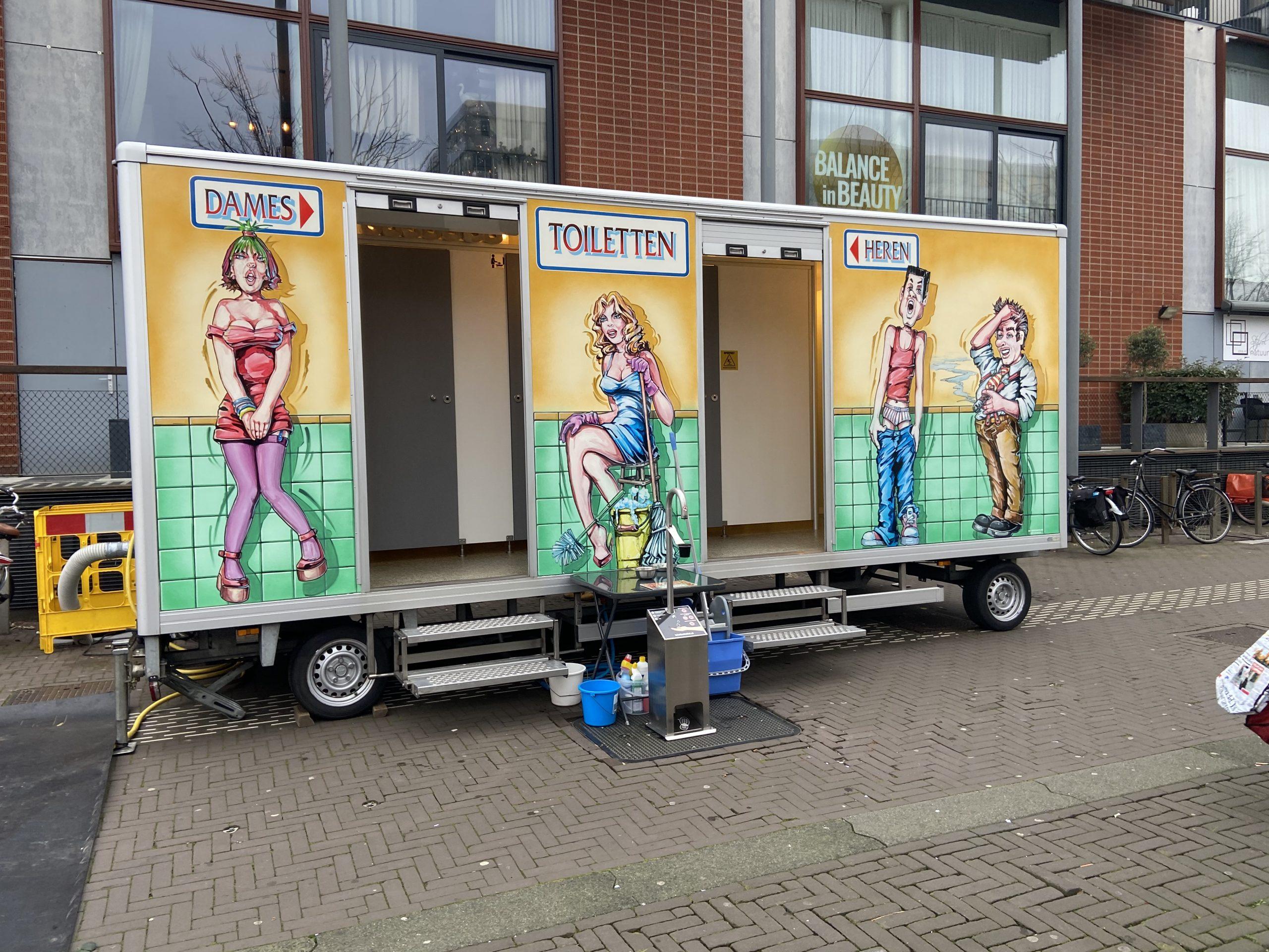 Toiletten in Hoofddorp