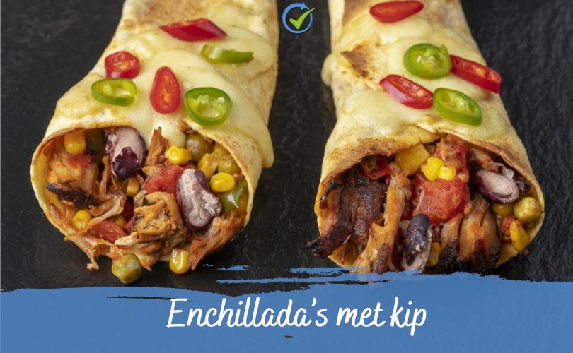 Enchillada's met kip