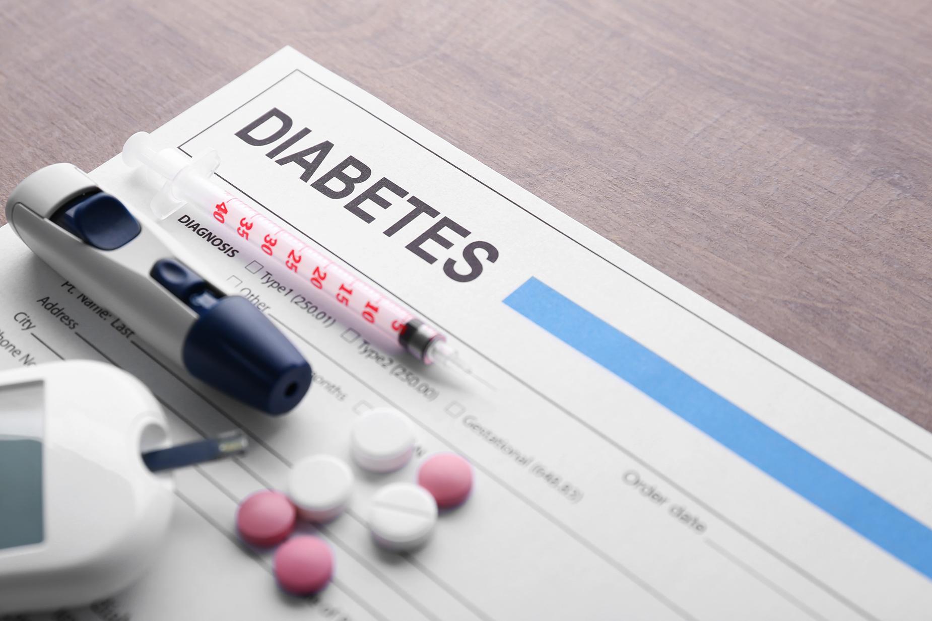 Wat is de invloed van voeding bij diabetes type 2