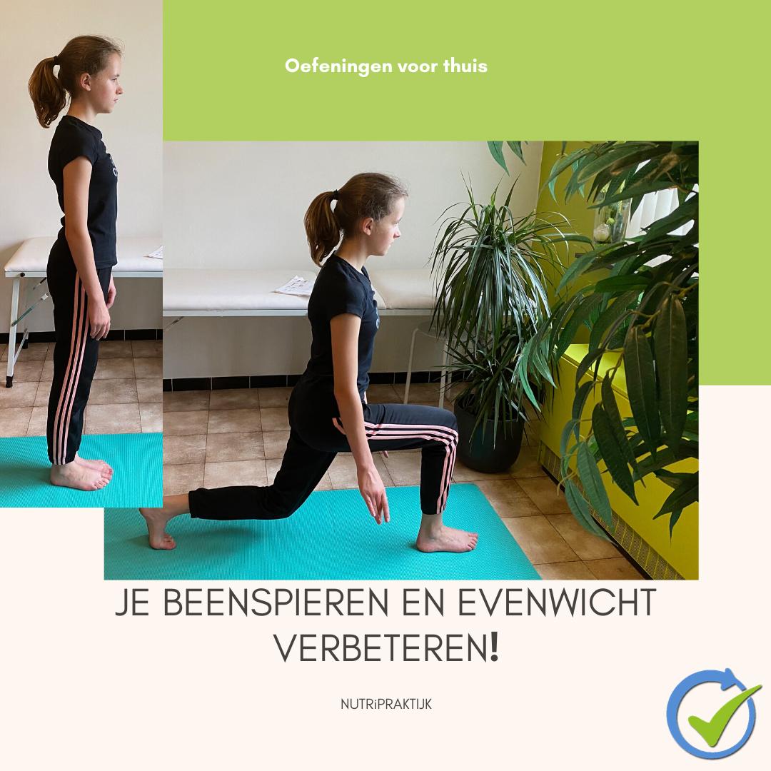 Je beenspieren en evenwicht verbeteren