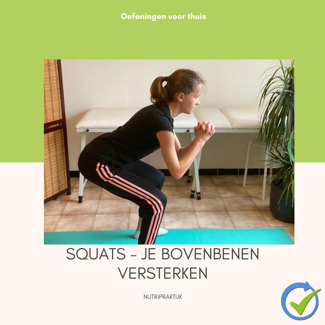 Squats – Je bovenbenen versterken