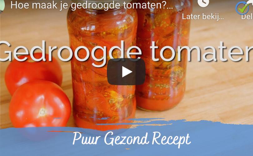 Gedroogde tomaatjes