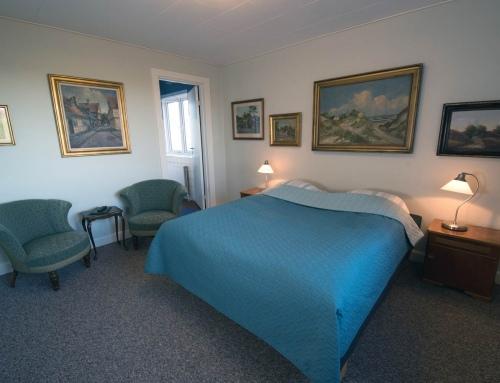 Dobbeltværelse, eget bad og toilet
