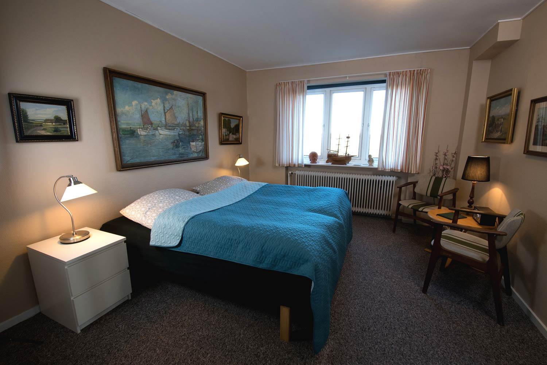 familieværelse med bad og toilet, Hotel Lolland
