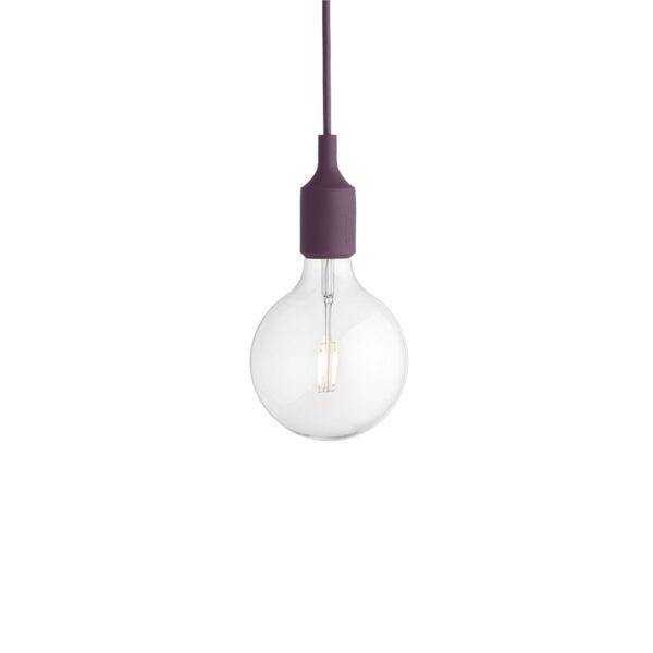 Muuto-E27-burgundy-LED