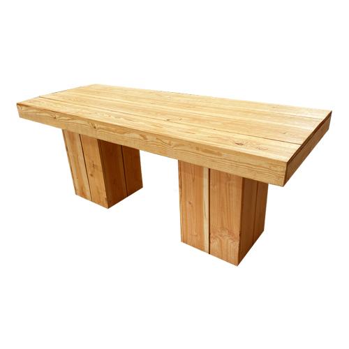Rustieke houten tafel huren