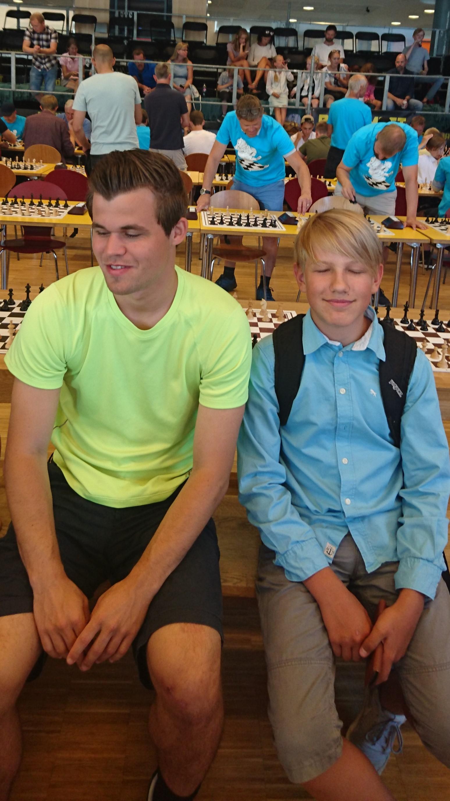 Tur til Skien sjakkfestival