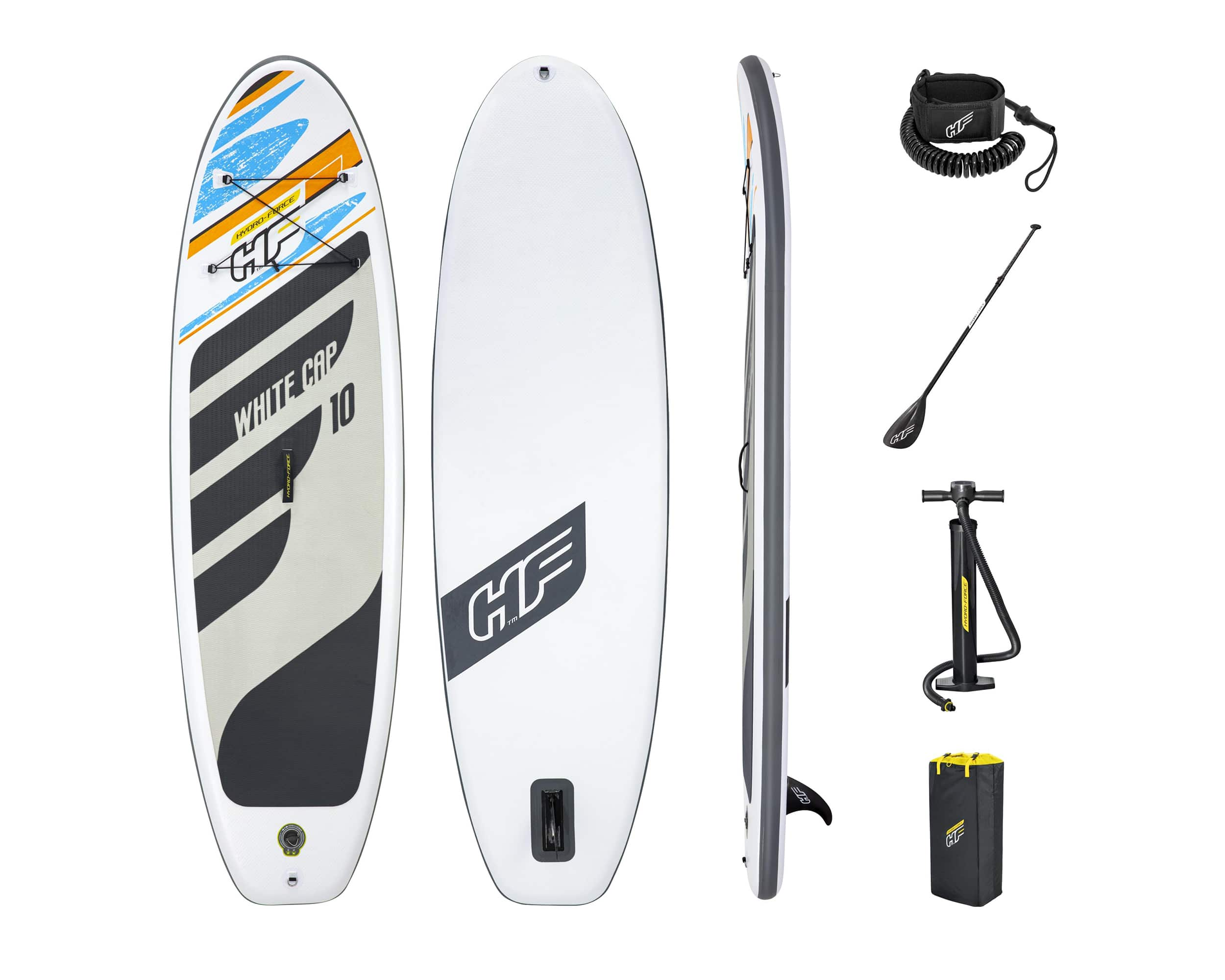 Hydro-Force White Cap Sup Brett Stand Up Paddle Board