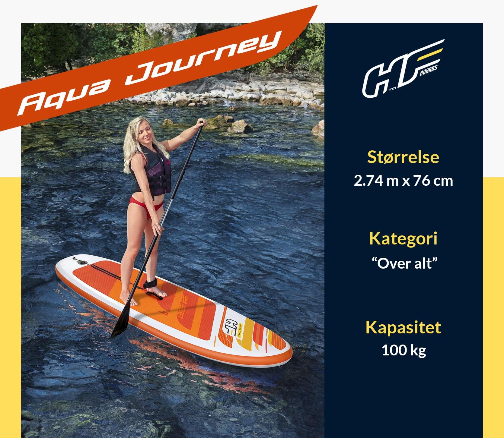Aqua Journey Paddle Board brett