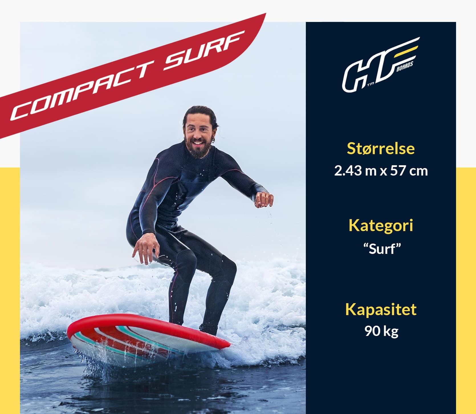 Compact Surf PaddleBoard Sup