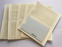 selvklæbende kortholder