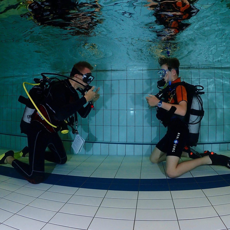 Duik initiatie duiken en padi duikopleidingen ids dendermonde