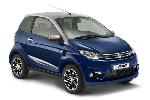 AIXAM komt met betaalbare elektrische auto.