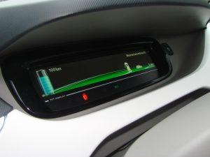oplaadindicator van een elektrische auto