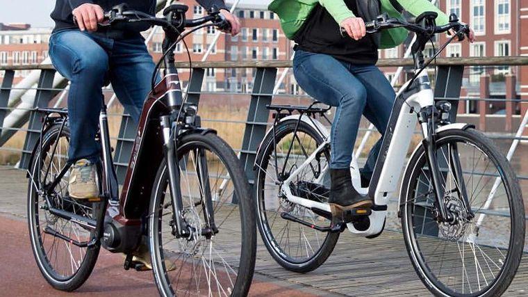 fietsen met de ebike